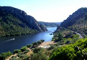 Tagus River in Spain
