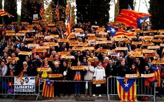 Catalonian Protesters