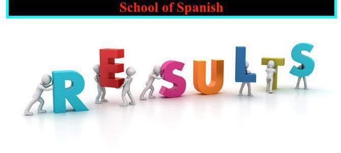 Spanish A1-A2 Results